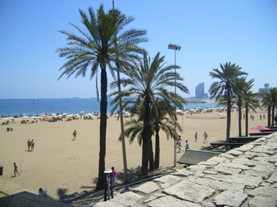 photo of Barcelona beach