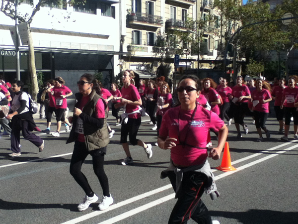 Barcelona women's 10K run