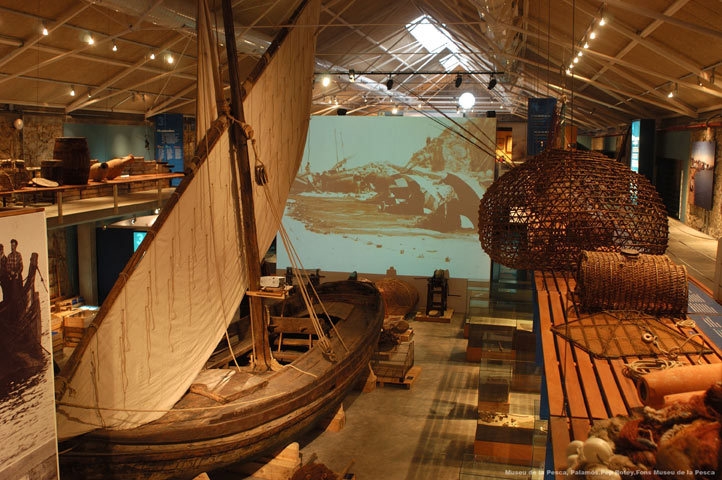 The impressive Fishing Museum in Palamos
