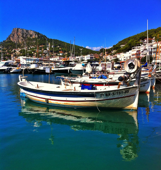 L'Estartit harbour